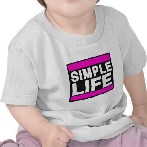 vida simple pink.png camisetas