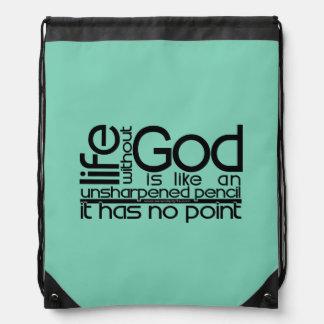 Vida sin dios… mochilas