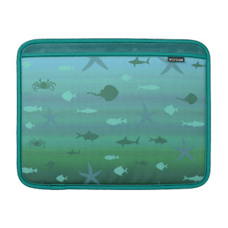 Vida subacuática fundas macbook air