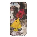 Vida subacuática; PESCADOS: Tang amarillo Funda Para iPhone 6 Barely There