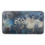Vida subacuática: Una tortuga de mar de Hawksbill iPod Case-Mate Carcasa