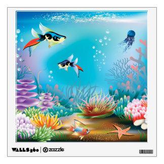 Vida submarina vinilo decorativo