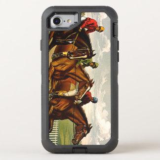 Vida SUPERIOR de la carrera de caballos Funda OtterBox Defender Para iPhone 7