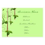 Vida verde tarjetas de visita
