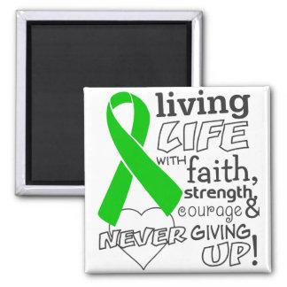 Vida viva del cáncer del riñón con la fe v2 imán para frigorifico