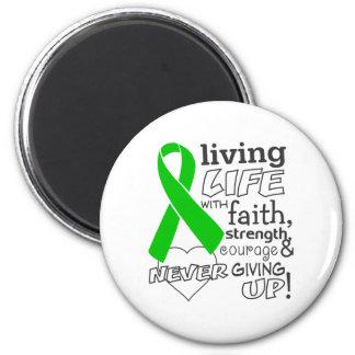 Vida viva del cáncer hepático con la fe imán de frigorífico