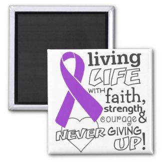 Vida viva del cáncer pancreático con la fe iman