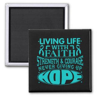 Vida viva del cáncer peritoneal con la fe
