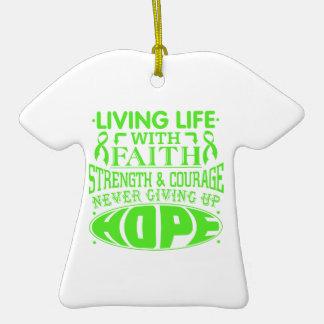 Vida viva del linfoma con la fe ornamentos de reyes magos