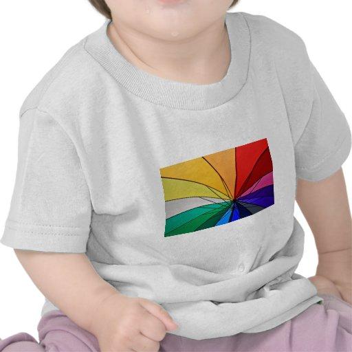 Vida viva en color camisetas