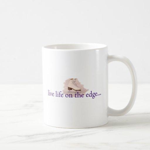 Vida viva en el borde… taza
