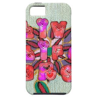 Vida viva Gifts.jpg grande de la experiencia iPhone 5 Case-Mate Protectores