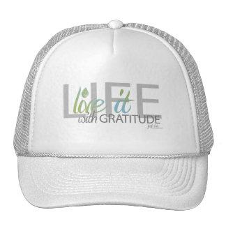 ¡VIDA - vive!! con gratitud Gorros Bordados