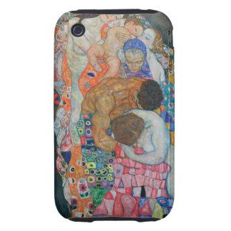 Vida y muerte de Klimt iPhone 3 Tough Funda
