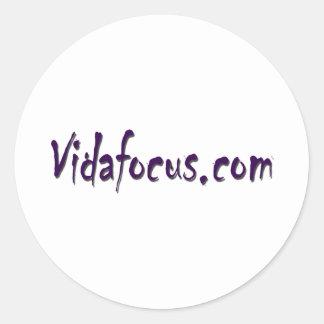 vidafocus.com etiquetas redondas
