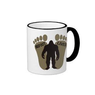 Vidas de Bigfoot Tazas De Café