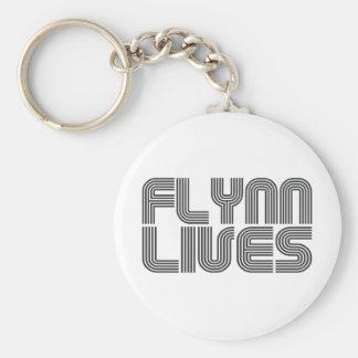 Vidas de Flynn Llavero Redondo Tipo Pin