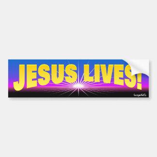 ¡Vidas de Jesús! Pegatina Para Auto
