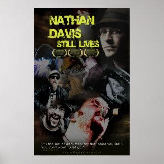 Vidas de Nathan todavía Davis Posters