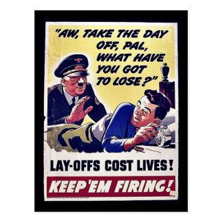 ¡Vidas del coste de Offs de la endecha! Tarjetas Postales