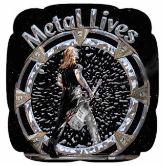 ¡Vidas del metal! Escultura Fotoescultura Vertical
