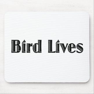 Vidas del pájaro tapete de raton