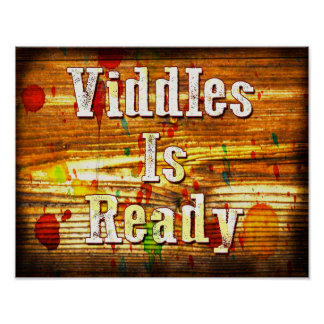 Viddles Is Ready Poster