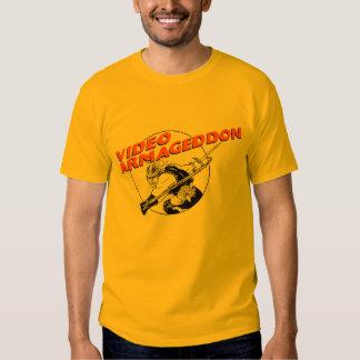 Video Armageddon - Gold Tee Shirt