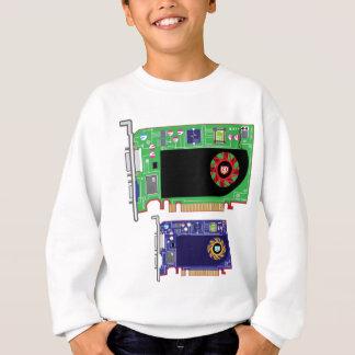 Video Card Vector Sweatshirt