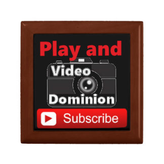 Video Dominion YouTube Subscribe and Play Jewelry Box