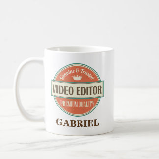 Video Editor Personalized Office Mug Gift
