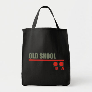 Video Game 101 at Old School Tote Bags
