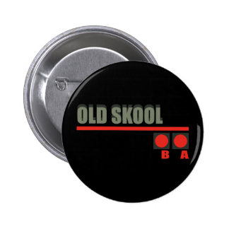 Video Game 101 at Old School Pinback Button