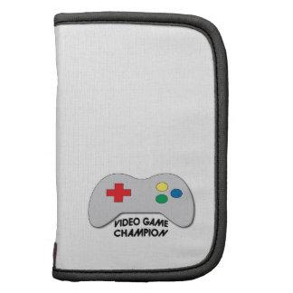Video Game Champion Folio Planners