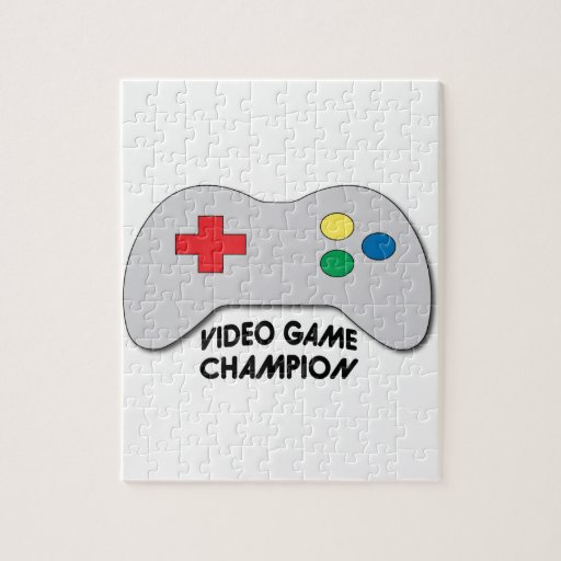 Video Game Champion Jigsaw Puzzles