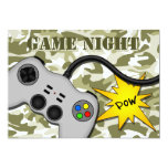 Video Game Controller Games Night Party Invitation