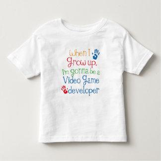 Video Game Developer (Future) Child Tshirts