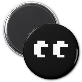 VIDEO GAME GHOST 2 INCH ROUND MAGNET