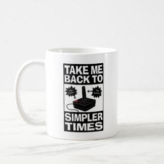 Video Game Humor Coffee Mug, Simpler Times Coffee Mug