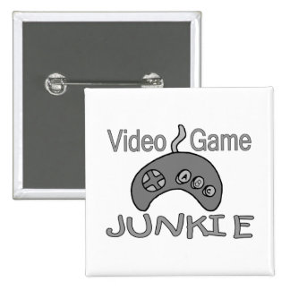Video Game Junkie Buttons