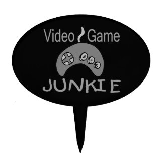 Video Game Junkie Cake Topper