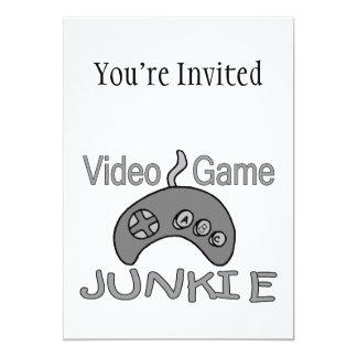 Video Game Junkie Card