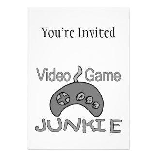 Video Game Junkie Invites