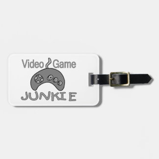 Video Game Junkie Luggage Tag