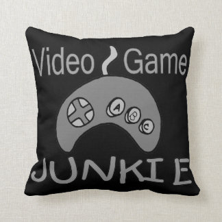 Video Game Junkie Pillows