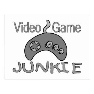 Video Game Junkie Postcard