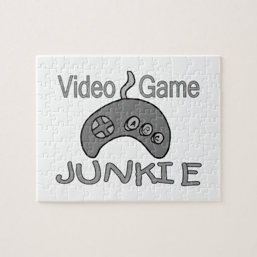 Video Game Junkie Jigsaw Puzzle