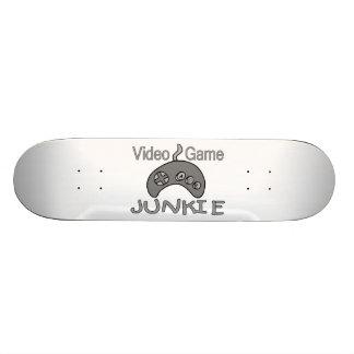 Video Game Junkie Skateboard Deck