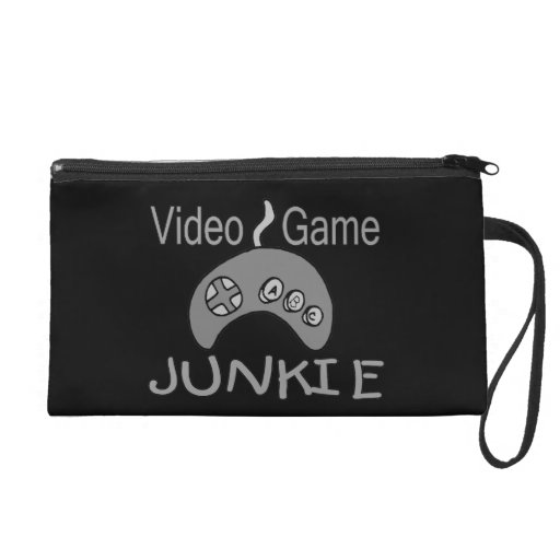 Video Game Junkie Wristlet Clutches