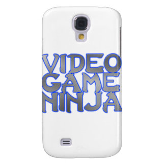 VIDEO GAME NINJA (blue) Samsung Galaxy S4 Case